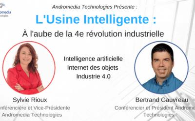 Conférence «L'Usine Intelligente à l'aube de la 4e révolution industrielle»